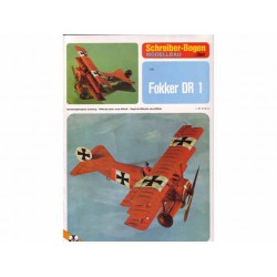 Fokker DR 1, Maqueta recortable