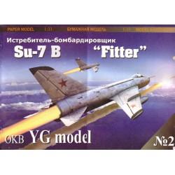 """SU-7 B """"Fitter"""", 1:33, YG Model"""