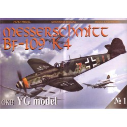 Messerschmitt BF-109 K4, 1:33, YG Model