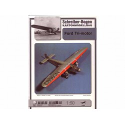 Ford Tri-motor, Maqueta recortable