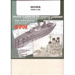 Jagdpanzer 38(t) Hetzer, 1:25, STM, cadenas