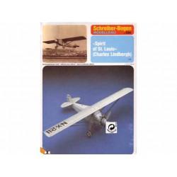 """Spirit de St. Louis"" (Charles Lindbergh). Maquetas Recortables."