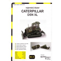 Caterpillar D5N XL, 1:32, Ripper Works