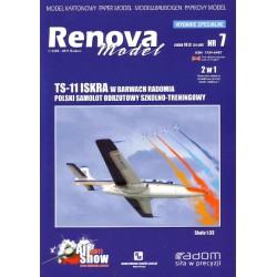 TS-11 ISKRA, 1:33, RENOVA