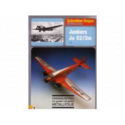 Junkers Ju 52/3m, (Folie) Maquetas Recortables