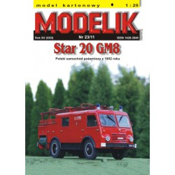 STAR 20 GM8, 1:25, MODELIK