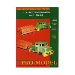 Locomotora serie SM 03