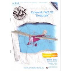"""Zalewski WZ.XI """"Kogutek"""", SWIAT, 1:33"""