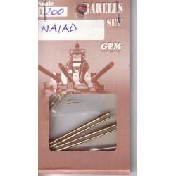 HMS NAIAD DIDO Class, GPM, 1:200, cañones