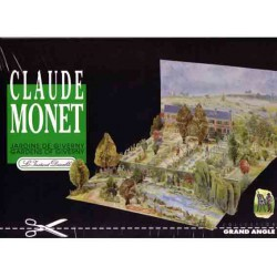 Claude Monet, diorama. Maqueta recortable