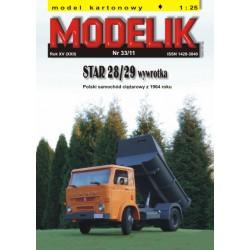 STAR 28/29 Dump Truck, Modelik, 1:25