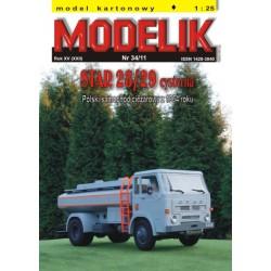 STAR 28/29 Tank Truck, Modelik, 1:25