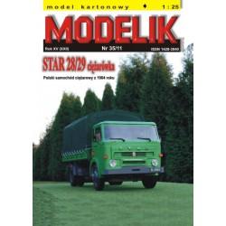 STAR 28/29 Truck, Modelik, 1:25