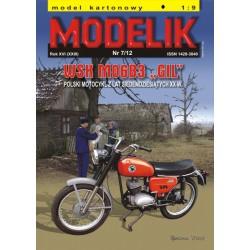 """WSK M06 B3 """"GIL"""", Modelik, 1:9"""