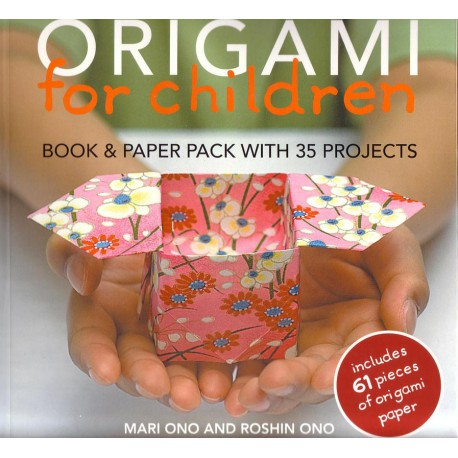 origami for children mari ono and roshin ono papel3d