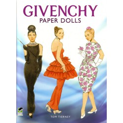 Givenchy paper dolls, Tom Tierney
