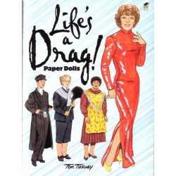 Life is a Drag paper dolls, Tom Tierney
