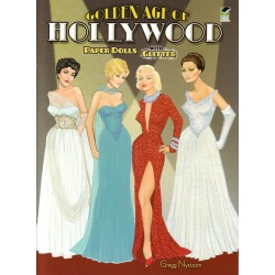 Golden Age of Hollywood. Paper dolls. Gregg Nystrom