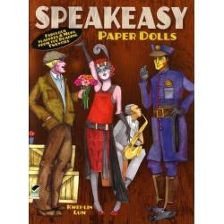 Speakeasy paper dolls, Kwei-Lin Lum