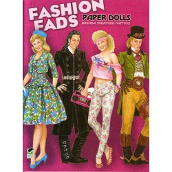 Fashion Fads, Brenda Mattox, paper dolls.