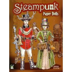 Steampunk, Ramona Szczerba, paper dolls