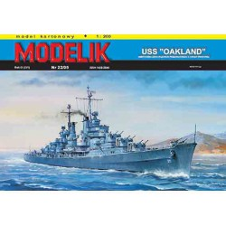 USS OAKLAND, Maqueta recortable.