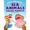 Sea Animals, Finger pupets, animales marinos, marionetas de dedo