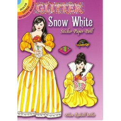 Snow White, sticker paper doll