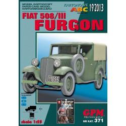 FURGON FIAT 508/III, GPM, 1:25
