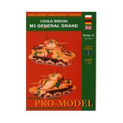 M3 General Grant, 1941, 1:25.