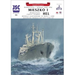 MIESZKO I and express freighter HEL 1:400, JSC