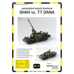ShKH vz. 77 DANA, 1:32, RIPPER WORKS