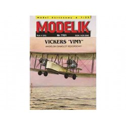 "VICKERS ""VIMY"", maqueta recortable"