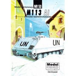 M 113 AI, 1:25, Maly Modelarz