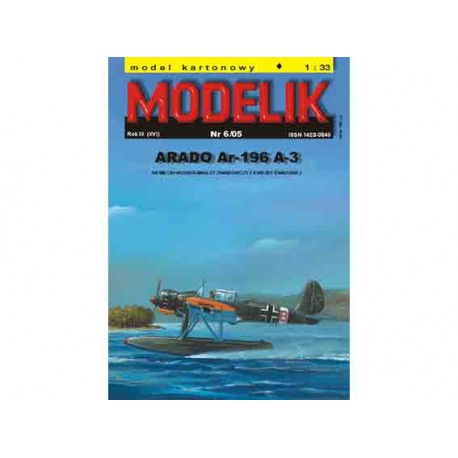 ARADO Ar-196 A-3. Maqueta recortable