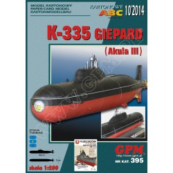 K-335 GIEPARD, 1:200, GPM
