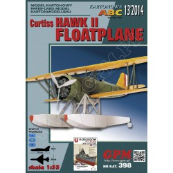 Curtiss Hawk II FLOATPLANE, 1:33, GPM