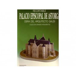 PALACIO EPISCOPAL DE ASTORGA, MAqueta recortable, 1:200