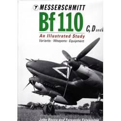 Messerscmitt Bf 110 C,D and E. An Illustrated Study.