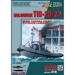 TID 20/27, 1:100, GPM + laser frames