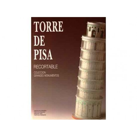 TORRE DE PISA, Maqueta recortable, 1:150