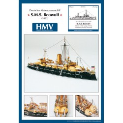 Coast Defense Battleship SMS Beowulf, 1:250, 1892, HMV