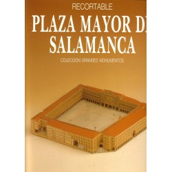 PLAZA MAYOR DE SALAMANCA, Maqueta recortable.