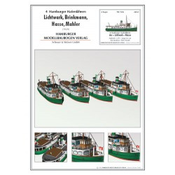 Hamburg Harbor Ferries, 1:259, HMV, 1928/1929