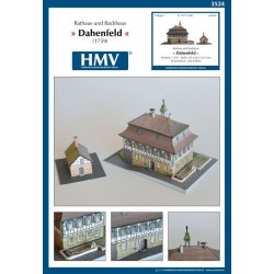 Town Hall and Baking House Dahenfeld, HMV, 1:250