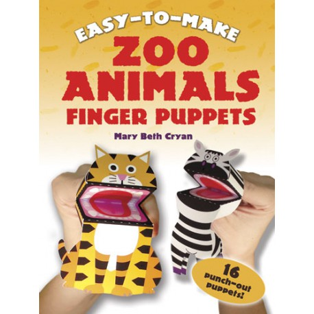 Zoo Animals Finger Puppets, Mary Beth Cryan, DOVER