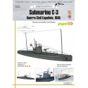 Submarino C-3, 1:300, Guerra Civil Española