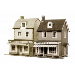 Country Town Shops - 1/72 OO/HO, Superquick.