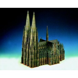 CATEDRAL DE COLONIA, Maqueta recortable.