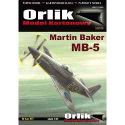 Martin Baker MB-5, ORLIK, 1:33
